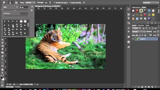 Photoshop 101 - How to use the Smudge Tool (Photoshop CS3-CS6)