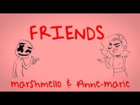 You Say You Love Me | FRIENDS Marshmello, Anne - Marie | Lyrics