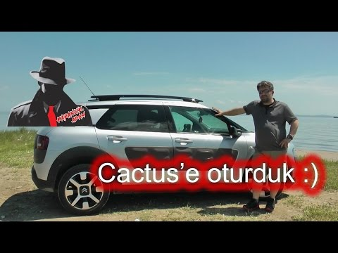 Citroen C4 Cactus 1.6 Dizel Otomatik Shine Model İnceleme