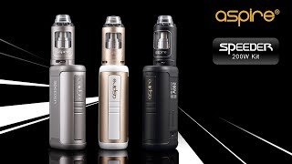 Aspire Speeder Kit including Speeder 200W mod and Athos tank