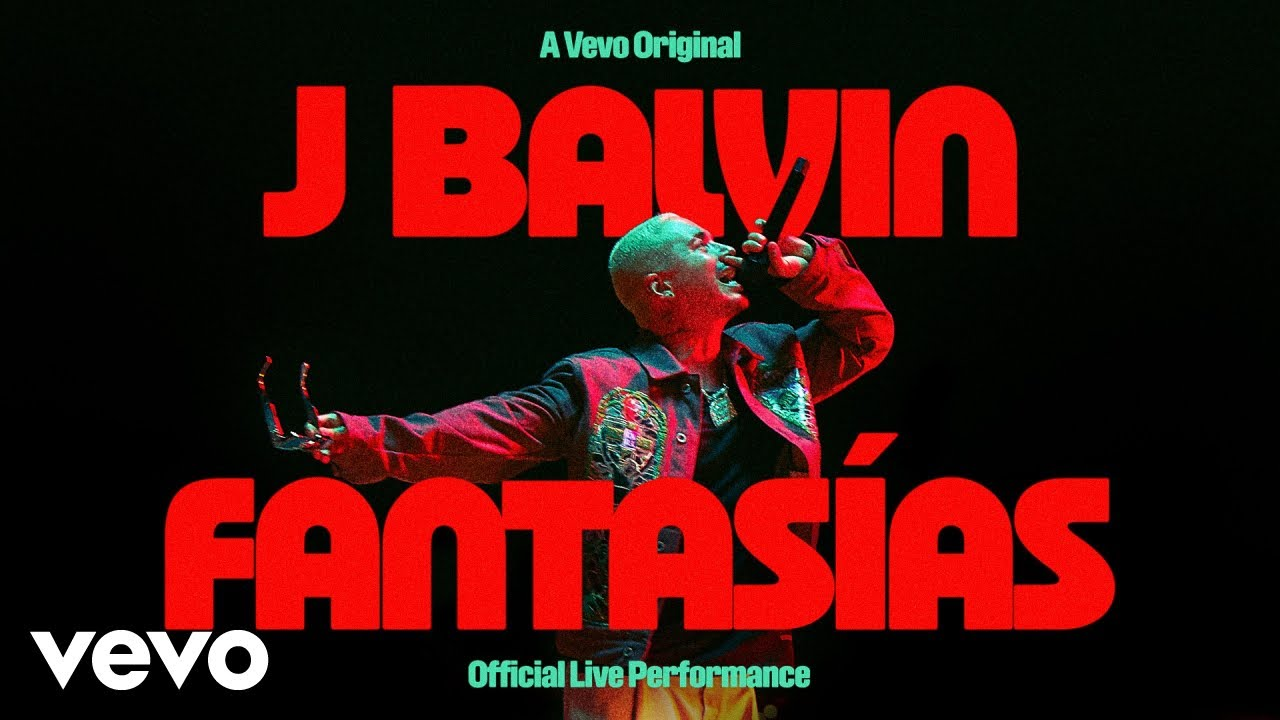 Download J Balvin - Fantasías (Official Live Performance) | Vevo