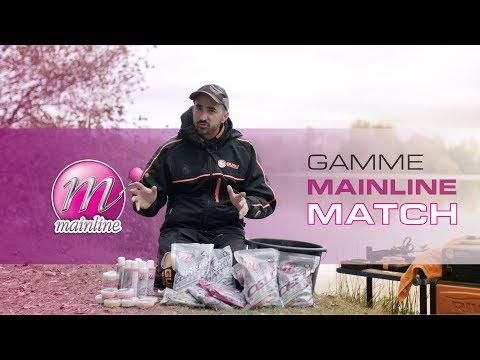 Gamme Mainline MATCH : amorce et pellets pour la carpe en carpodrome