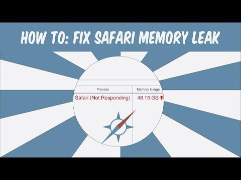 Mac How-To: Fix Safari Memory Leak - YouTube