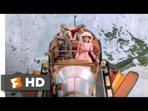 Chitty Chitty Bang Bang (1968) - Chitty Gets Airborne Scene (7/12)   Movieclips