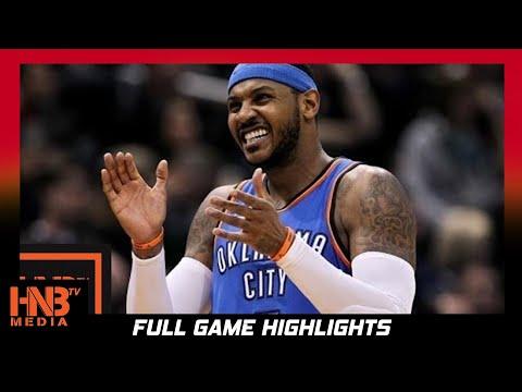 Oklahoma City Thunder vs Sacramento Kings Full Game Highlights / Week 4 / 2017 NBA Season