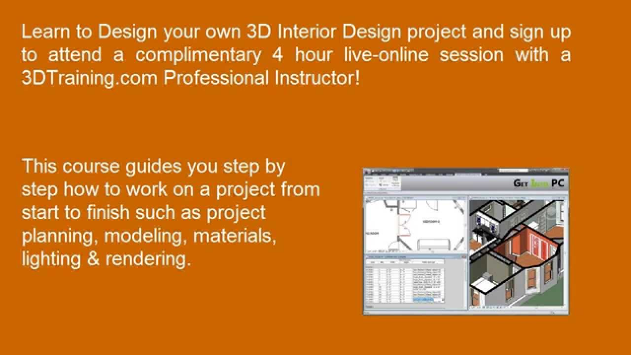 How To Design 3D Interior With Autodesk Revit Software