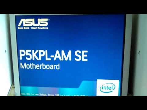macOS INSTALL-Asus P5KPL-AM SE 775 SOCKET 4+4=8GB DDR2 RAM+Xeon X5460