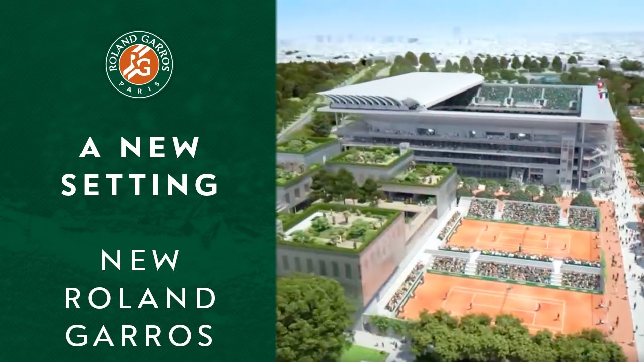 A new setting for a legendary tournament | New Roland Garros