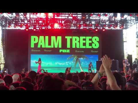 Flatbush Zombies - Palm Trees - Live at Coachella 2018 - Weekend 1