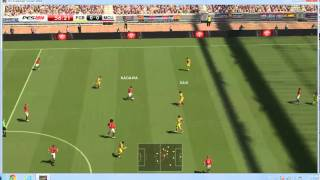 PES 2014 - FC Barcelona vs Manchester United [PC] (HD)