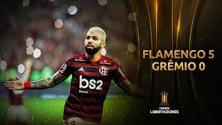 GOLES | Flamengo 5 - Grêmio 0 | Copa CONMEBOL Libertadores