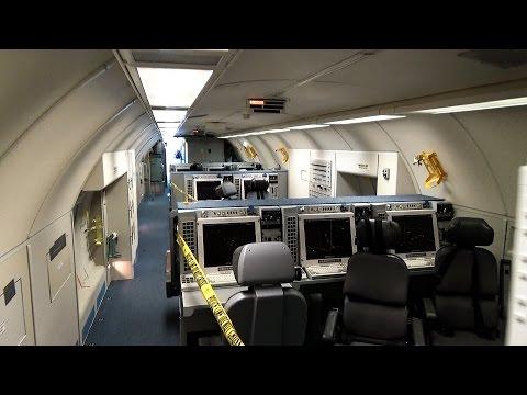 Inside the AWACS-Boeing E-3A SENTRY NATO+OTAN LX-N 90443