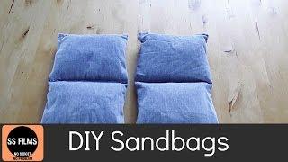 DIY film sand bags