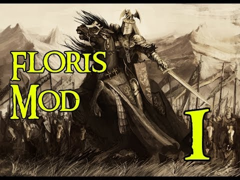 M&B Warband: Floris Mod Lets Play- Part 1 (Introduction, tournament, and recruiting)