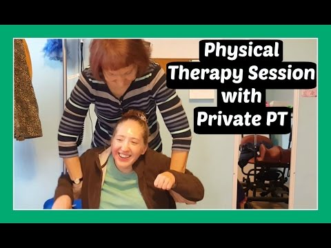 Bench Therapy Session with Micah's Private Physical Therapist | Cerebral Palsy | Special Needs