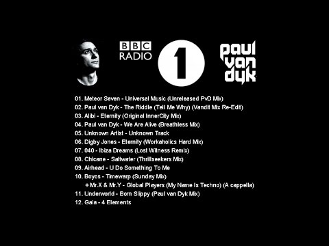 Paul van Dyk - Radio 1 Dance Party - Southsea - 25.08.2000