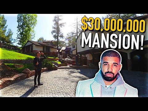 VISITING DRAKE'S $30 MILLION MANSION!! (INSANE)