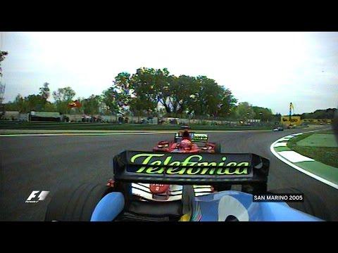 Alonso Defies Schumacher | 2005 San Marino Grand Prix