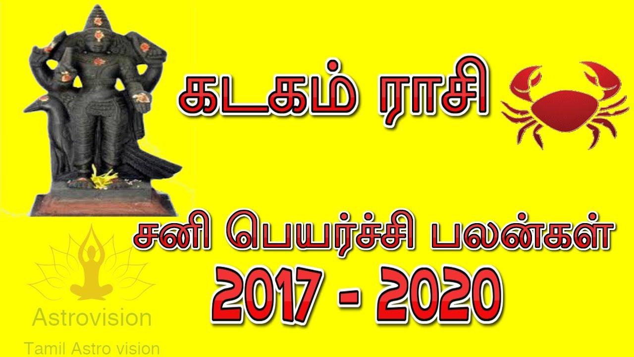sani peyarchi 2017 to 2020 date
