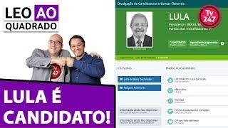 Baixar Leo ao quadrado: Lula é candidato e encara a perseguição judicial