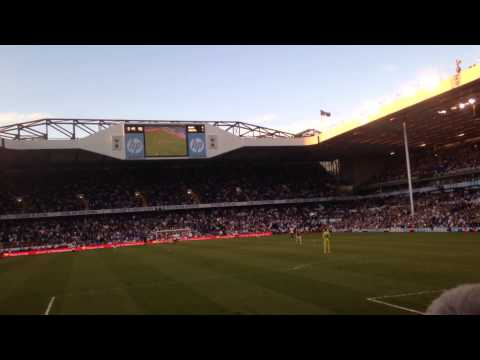 Spurs 0-1 Arsenal - 16/3/14 final whistle