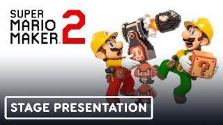 Super Mario Maker 2 Gameplay Full Treehouse Presentation Pt. 3 - E3 2019