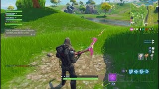 Fortnite ps4 pro search between a covered bridge waterfall and the 9th green