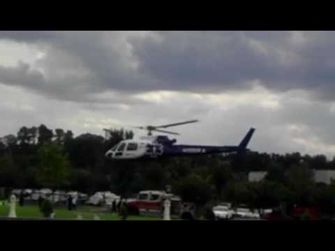 Helicopter @ BAPS Mandir : Atlanta medical center