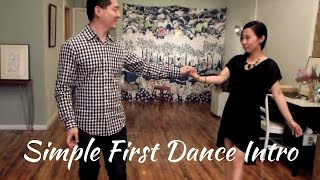 Wedding Dance Ideas | A Simple Elegant Entrance for your First Dance