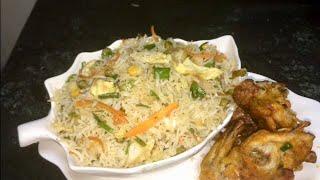 Fried Rice Veg Recipe by RJ Kitchen