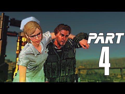 Metal Gear Survive Gameplay Walkthrough Part 4- Iris Energy & Rescue Chris (XBOX ONE) [Full Game]