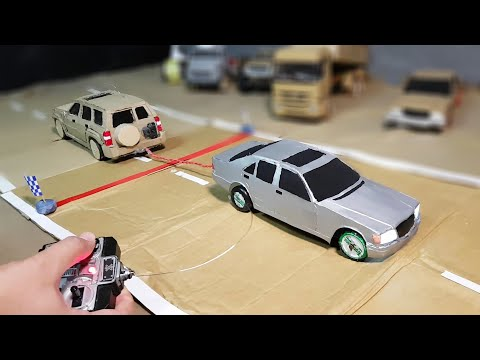 RC Mercedes W140 VS RC Nissan Patrol # Made in home