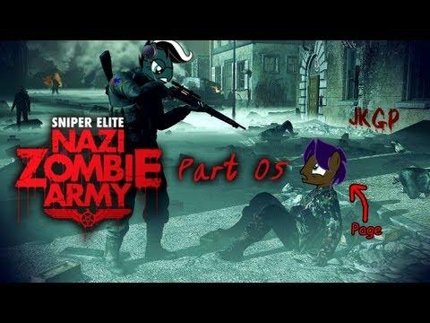 JKGP - PC - Sniper Elite Nazi Zombie Army - Singleplay - part 05 (Korean)  