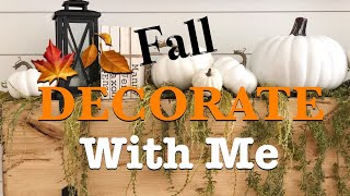 DECORATE WITH ME FOR FALL 2019 | FALL DECORATING IDEAS