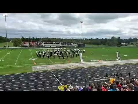 Harbor Springs High School Marching Band @ Kenowa Hills Band Competition