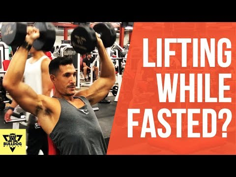 Lifting Weights On An Empty Stomach (OMAD & Intermittent Fasting)