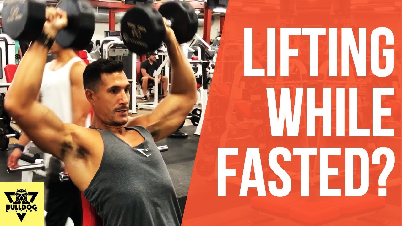 Lifting Weights On An Empty Stomach Omad Intermittent Fasting Youtube