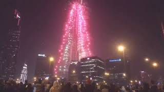 New Year 2019 Fireworks Burjkhalifa Dubai M S Ali Live