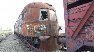 Een kijkje in een verlaten treinstel van de orient express. (URBEX)