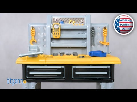 My Very Own Deluxe Workbench From American Plastic Toys