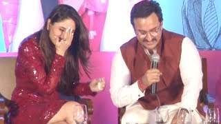 Kareena Kapoor embarrassed by Saif Ali Khan| Video
