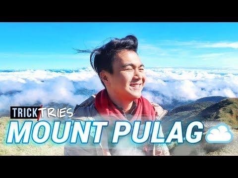 MT. PULAG HIKE ☁️ Sea of Clouds via Ambangeg Trail (Philippines) | TrickTries Hiking | TricksterzPH