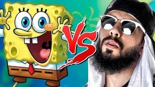 Spongebob VS the. Mussoumano | Batalha de-Rap-ZU-LEBEN -