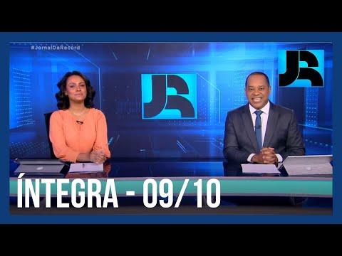 Assista à íntegra Do Jornal Da Record | 09/10/2021