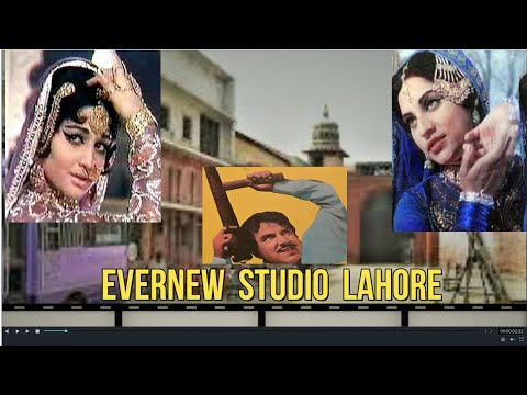 """EVERNEW STUDIO LAHORE TOUR""  Watch shooting of a Lollywood FILM HINA. A Talk with Director. PTN-USA"