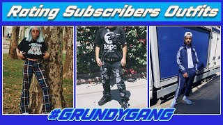 RATING SUBSCRIBERS OUTFITS #7|SUPREME, BAPE, SKETCHERS & NIKE| Fall Fashion & Streetwear