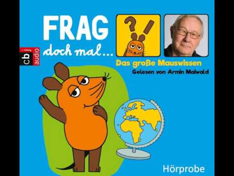 Das große Mauswissen (Frag doch mal... die Maus!) YouTube Hörbuch Trailer auf Deutsch