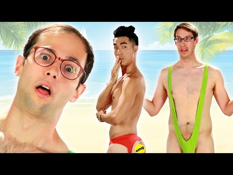 The Try Guys Try Extreme Swimsuits
