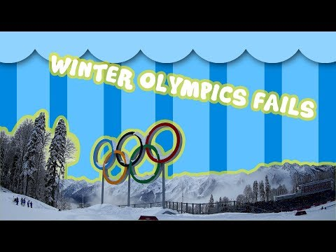 25 Winter olympics funny fails & serious crashes ❄️