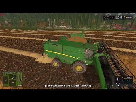 Farming Simulator 17 Seasons Pine Cove Productions ep .37 Final Fields
